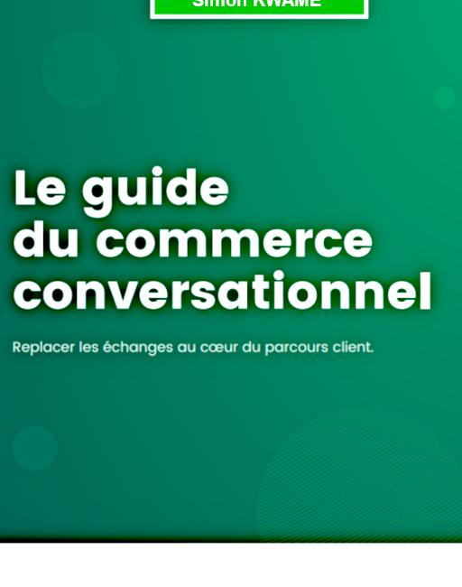 le commerce conversationnel